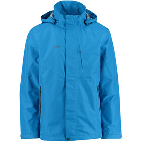 Kaikkialla Vilhelm 2 Layer Jacket Herre royal blue